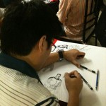 Leinil Yu drawing Superior