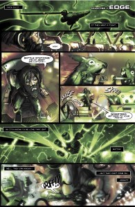 Critical Millennium-The Dark Frontier Preview PG1