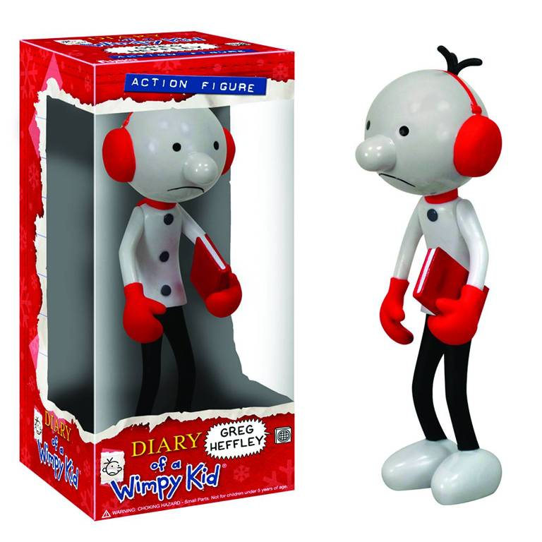 Diamond Offers Greg 'Wimpy Kid' Heffley Toy, Jeff Kinney, Diary of a Wimpy Kid