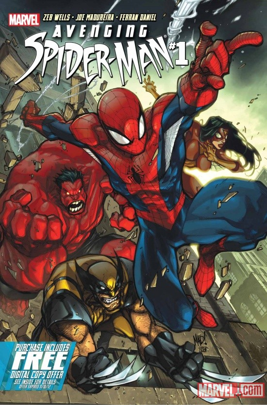 Avenging Spider-Man #1 Joe Madureira cover