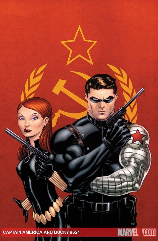 Captain America & Bucky #624 01