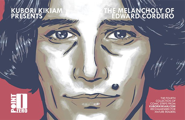 Kubori Kikiam - 'The Melancholy of Edward Cordero' Volume 4 front cover