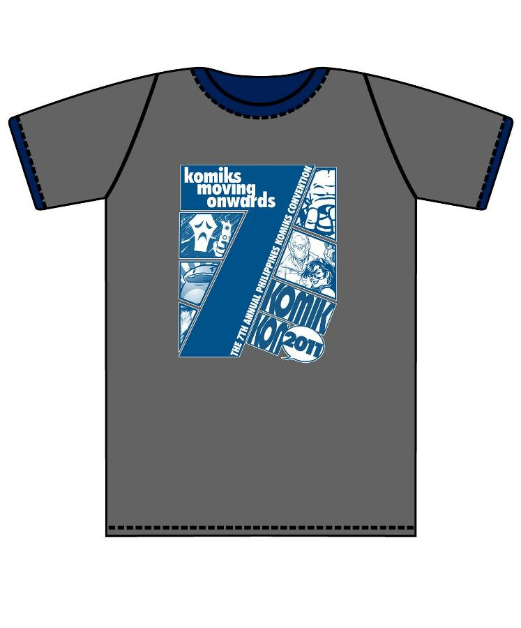 Official Komikon 2011 Shirt