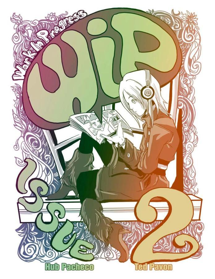 WIP Comics 02 Cover