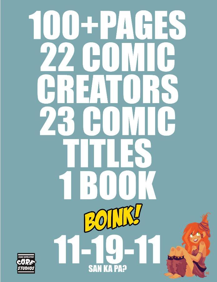 Bonk Comic Digest promo