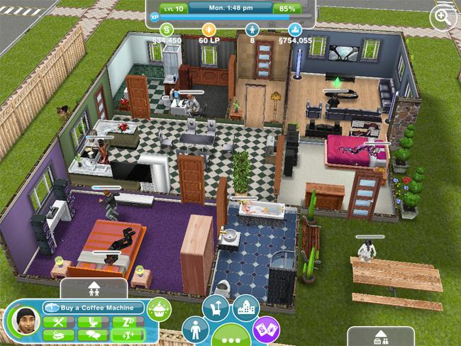 FREE GAMEPLAY: The Sims FreePlay App on iPad, iPhone and iPod Touch ...