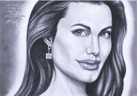 Angelina Jolie by Paul Malunes