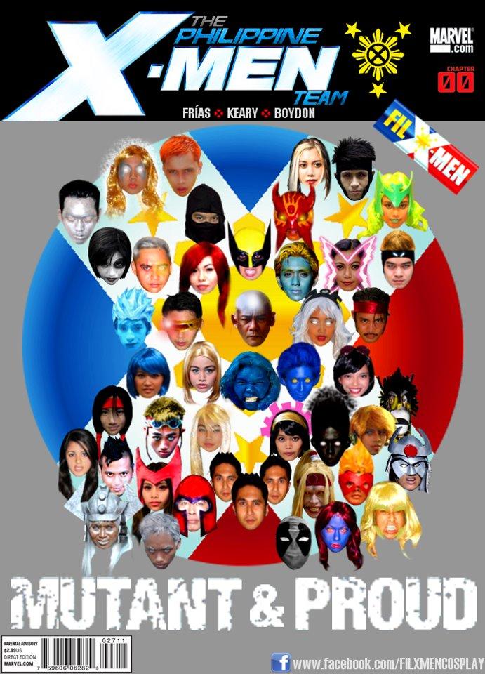 Philippines X-Men Cosplay Team