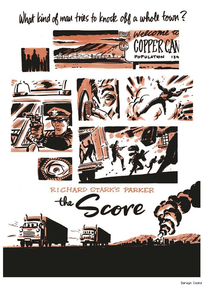 Parker The Score by Darwyn Cooke
