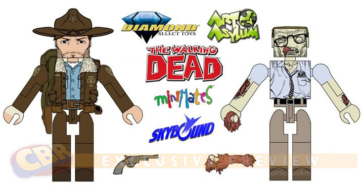 Walking Dead Image Comics Minimates