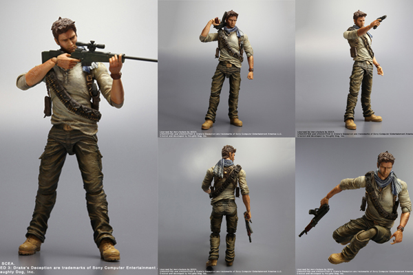 Play Arts Kai Nathan Drake - Uncharted 3: Drake's Deception