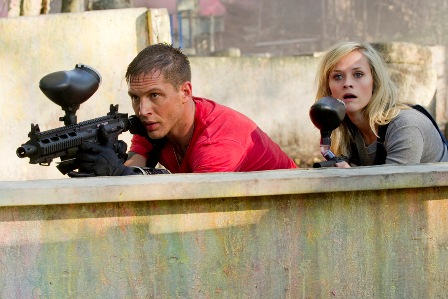 tom hardy & reese in THIS MEANS WAR