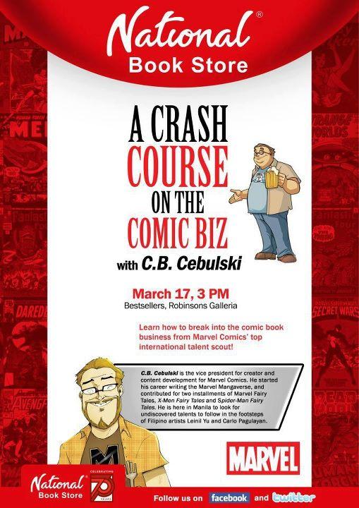 CB Cebulski Comics Seminar in Manila Philippines