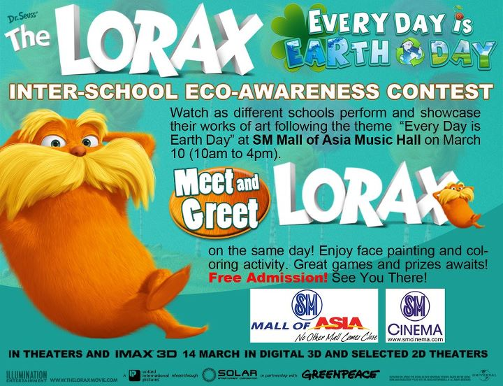 The Lorax Meet and Greet