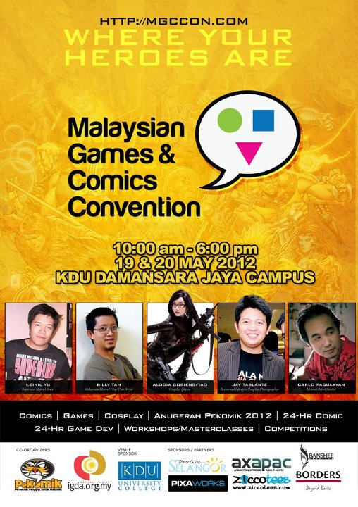 Malaysian Games and Comics Convention