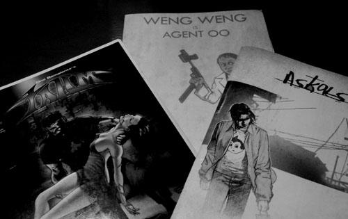 Indie Komiks - Weng Weng, Talim and Askal