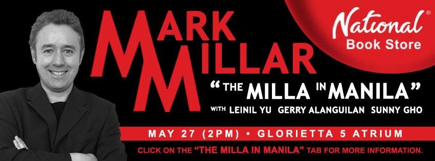 Mark Millar in Manila