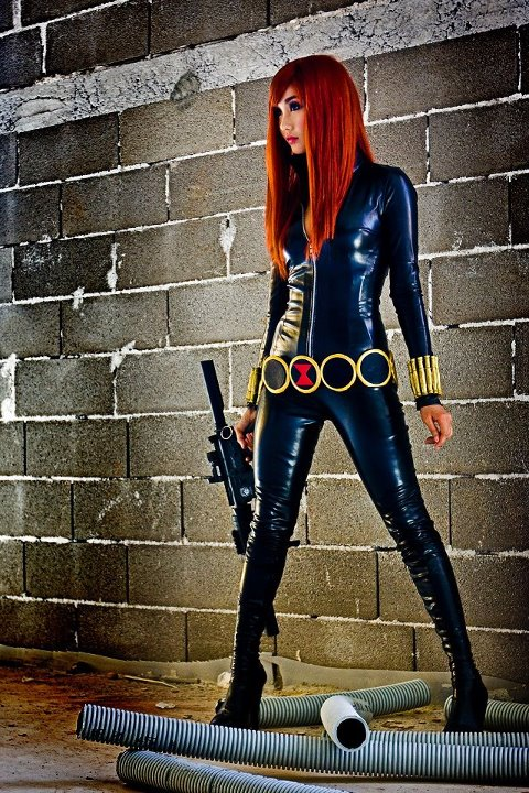 Alodia Gosiengfiao as Black Widow