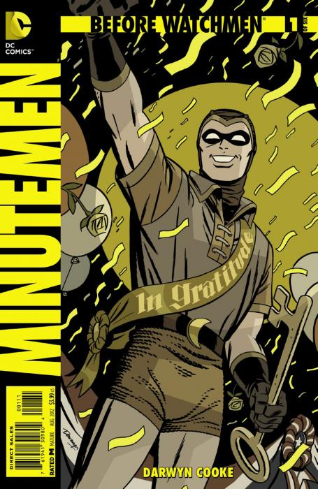 Before Watchmen- The Minutemen -1
