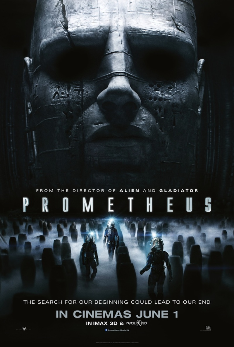Prometheus new one-sheet poster