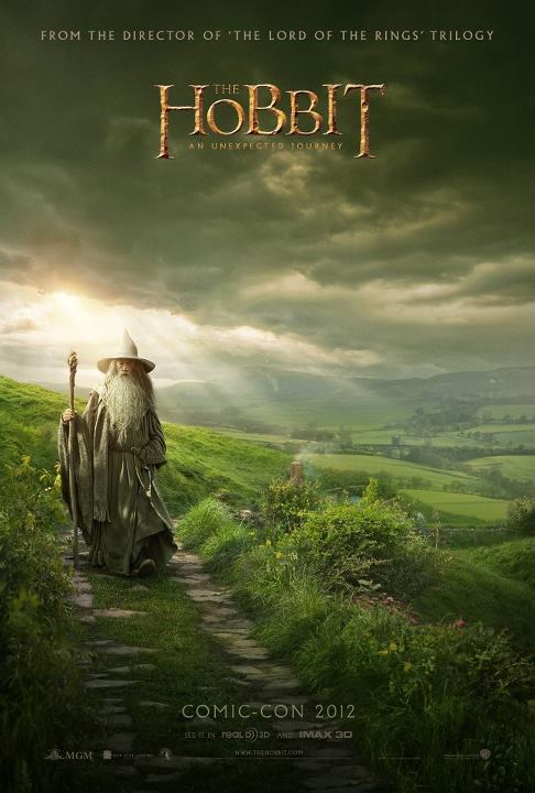 the-hobbit-peter-jackson-comic-con-poster
