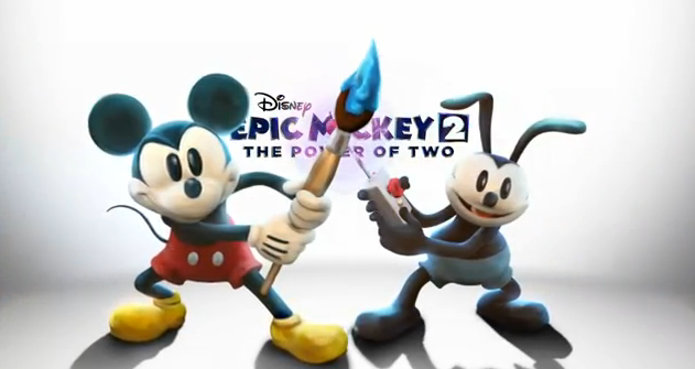 Disney Epic Mickey 2 The Power of 2 Behind the Scenes Video Game Trailer FlipGeeks Feature