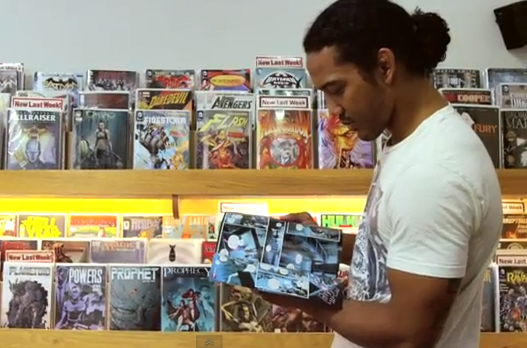 UFC Lightweight Champion Ben Henderson loves to read Comic books
