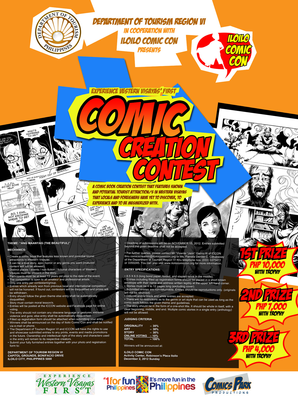 iloilo-comic-con-comic-creation-contest
