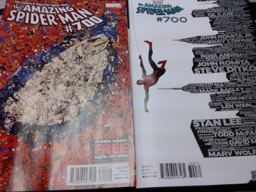 Geek Night at Comicx Hub with Amazing Spider-Man #700 variants and more