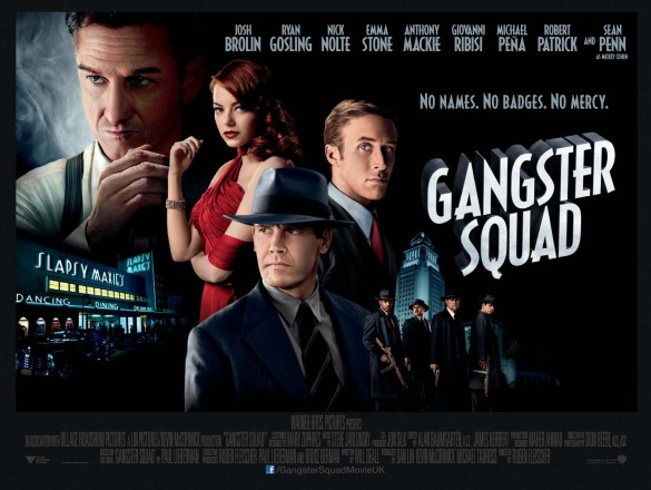 The poster of Gangster Squad