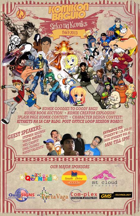 Baguio Komik Kon - Sirko ng Komiks 2013