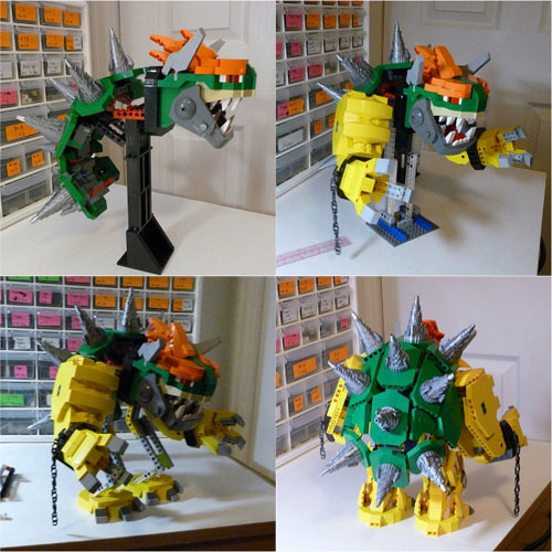 Work In Progress for Bowser Lego