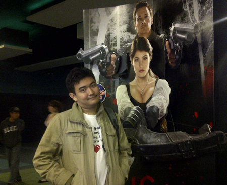 At the movie premiere of Hansel & Gretel: Witch Hunters