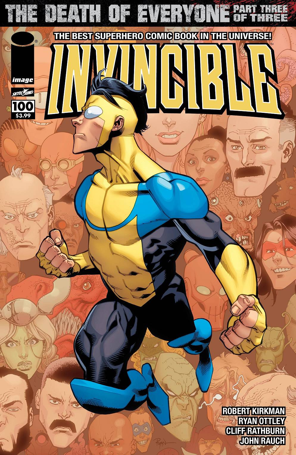 Invincible 100 cover