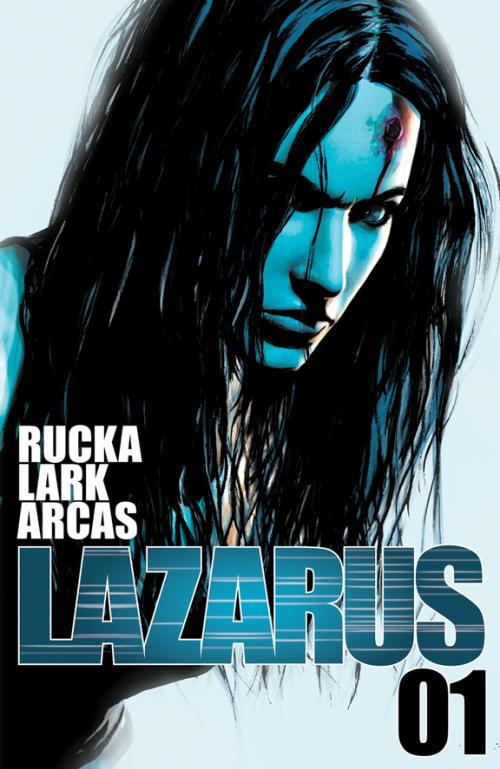 Greg Rucka and Michael Lark in LAZARUS