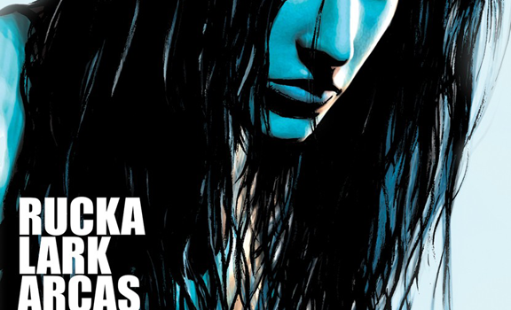 Greg Rucka and Michael Lark in LAZARUS