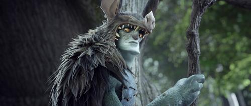 epic animated Christoph Waltz as Mandrake