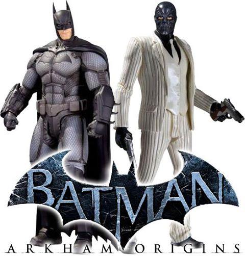 Arkham Origins Figures Batman and Black Mask