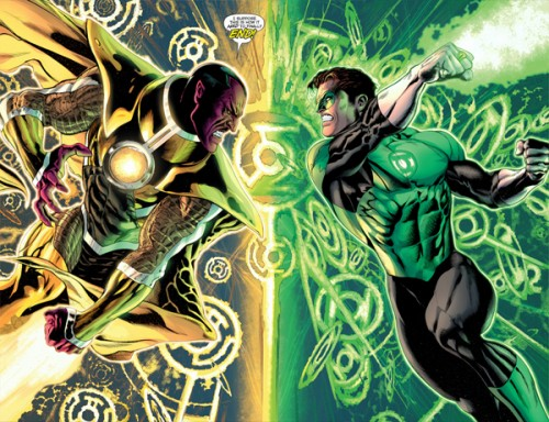 Green Lantern 20 Hal Jordan versus Sinestro
