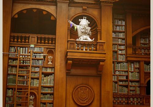 Monster University Library Bohol Hall