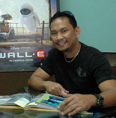 Pinoy Animator Nelson Bohol of Pixar