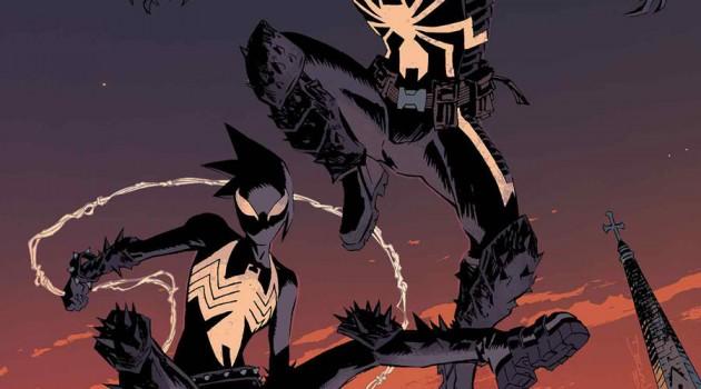 Venom and Mania. Cover to Venom #38