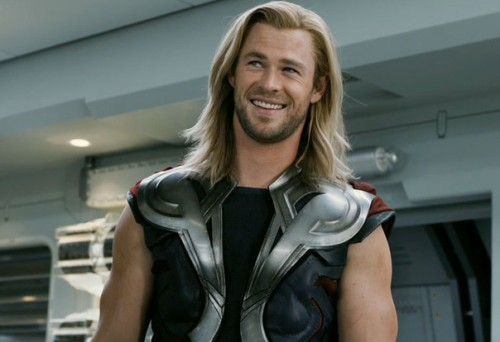 Thor smiles after all