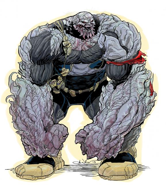 First Image Of New 52 Doomsday Revealed Flipgeeks