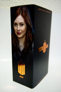 Doctor Who Amy Pond Signature Edition packaging side view