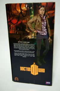 Doctor Who Amy Pond Signature Edition packaging rear