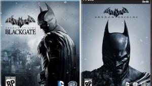 Batman Arkham Origins and Blackgate Box Art