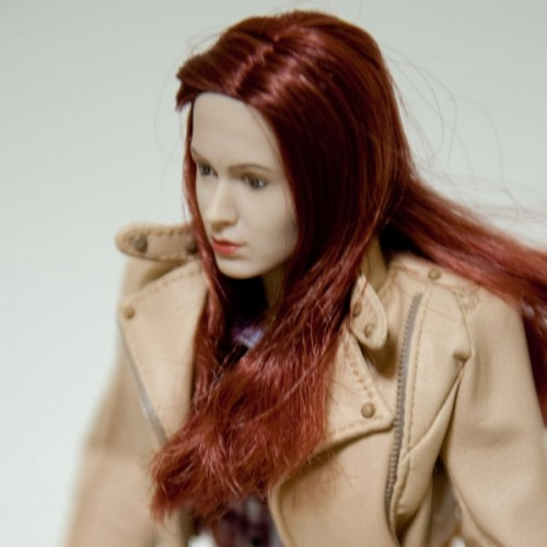 Close up photo of Amy Pond Signature Edition from Doctor Who