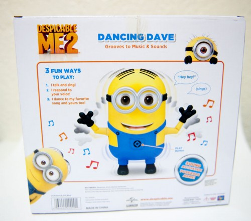 Despicable Me 2 Dancing Dave