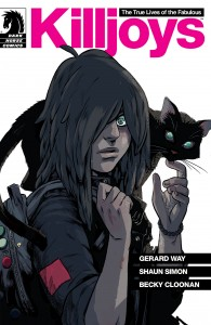 Cover of issue 001, The True Lives of the Fabulous Killjoys